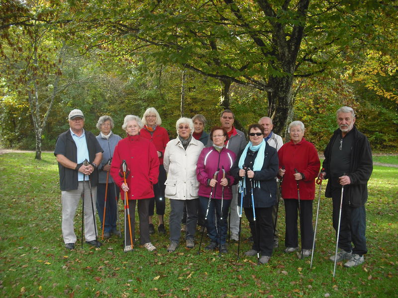 Die Nordic-Walking Gruppe der Naturfreunde Ortsgruppe Herrenberg